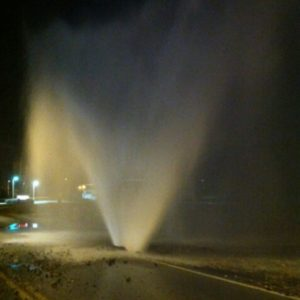 Water Main Break!