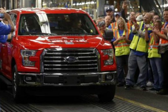 Ford's New F-150 is coming to Rob Sight in Martin City!