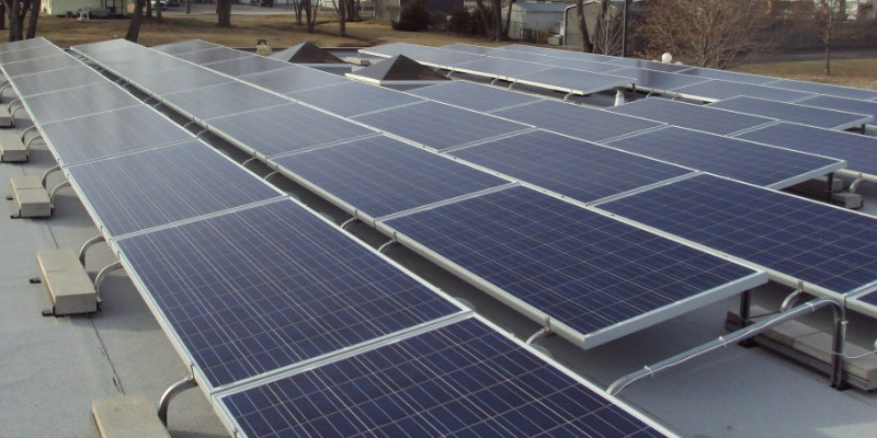 Pearce Construction Puts Solar Power To Good Use