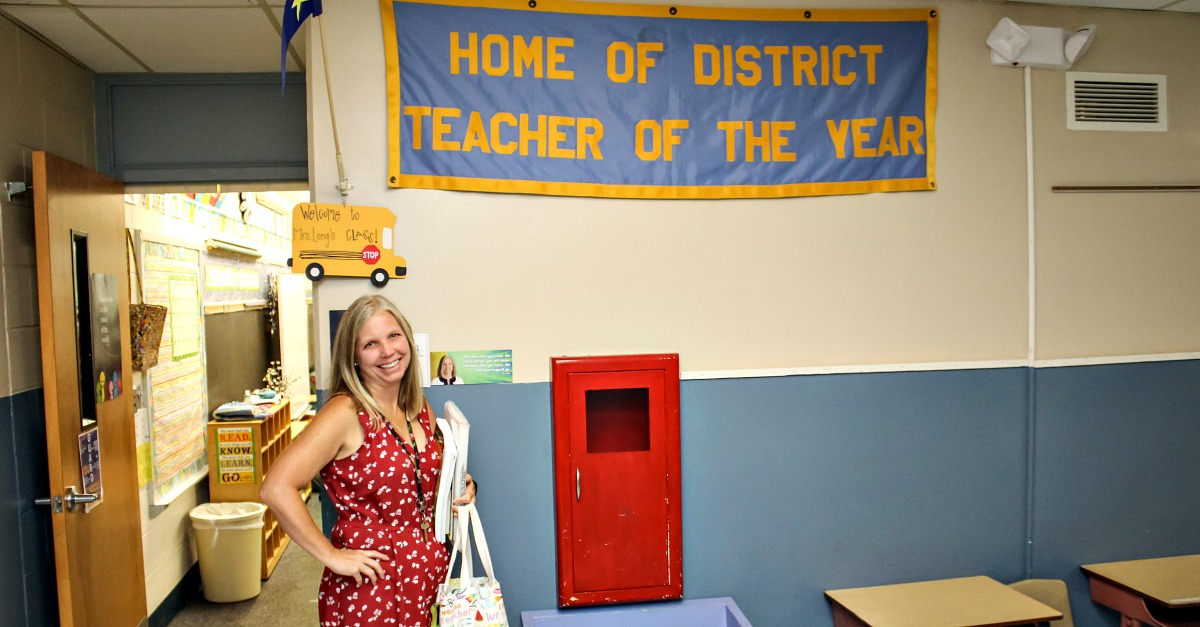 Cindy Long has been honored as MCK-8 and Grandview C-4 School District Teacher of the Year.