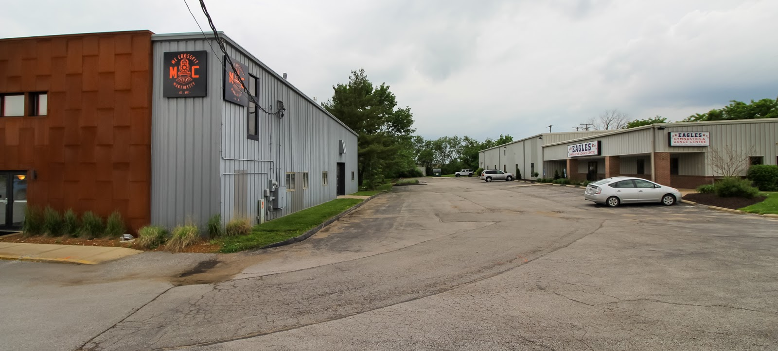 Eagles Gymnastics & Dance Centre is right across the parking lot from MC CrossFit.