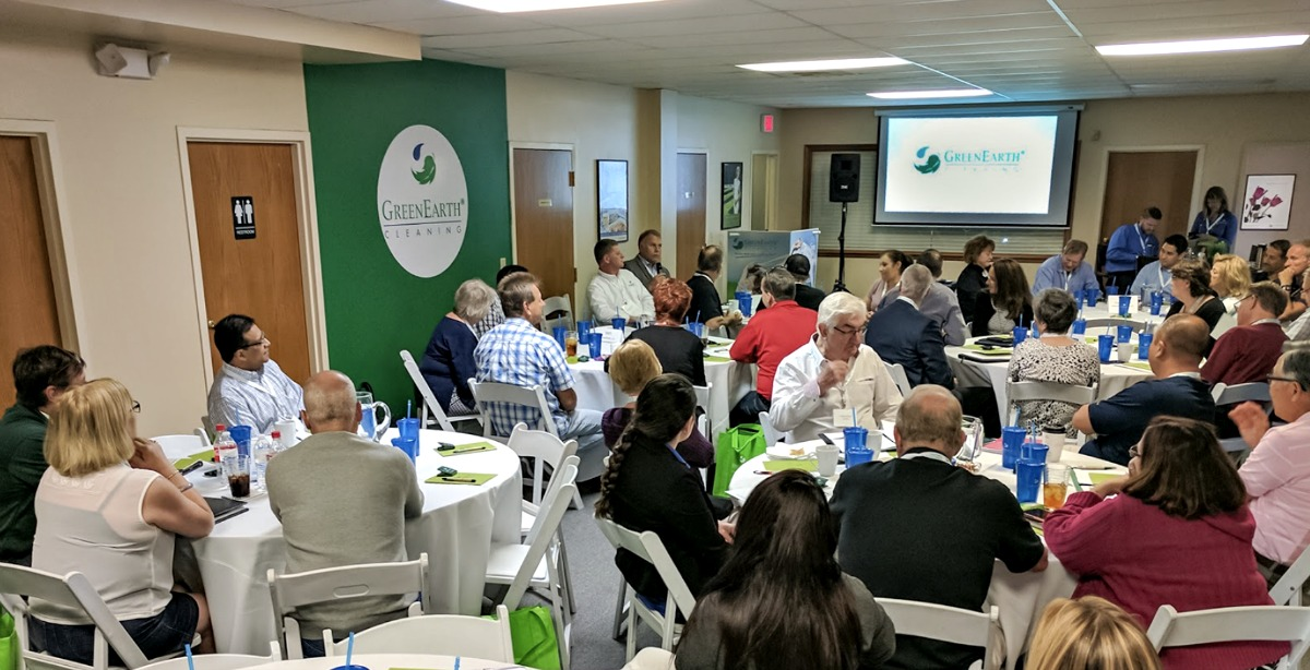 Dozens of GreenEarth affiliates flock to Martin City yearly to discuss new initiatives and celebrate shared success.