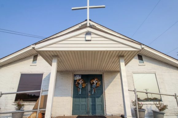 Historic Martin City Church Endures on Sacred Ground